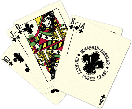 Monaghan-Koehlar Charity Poker Crawl